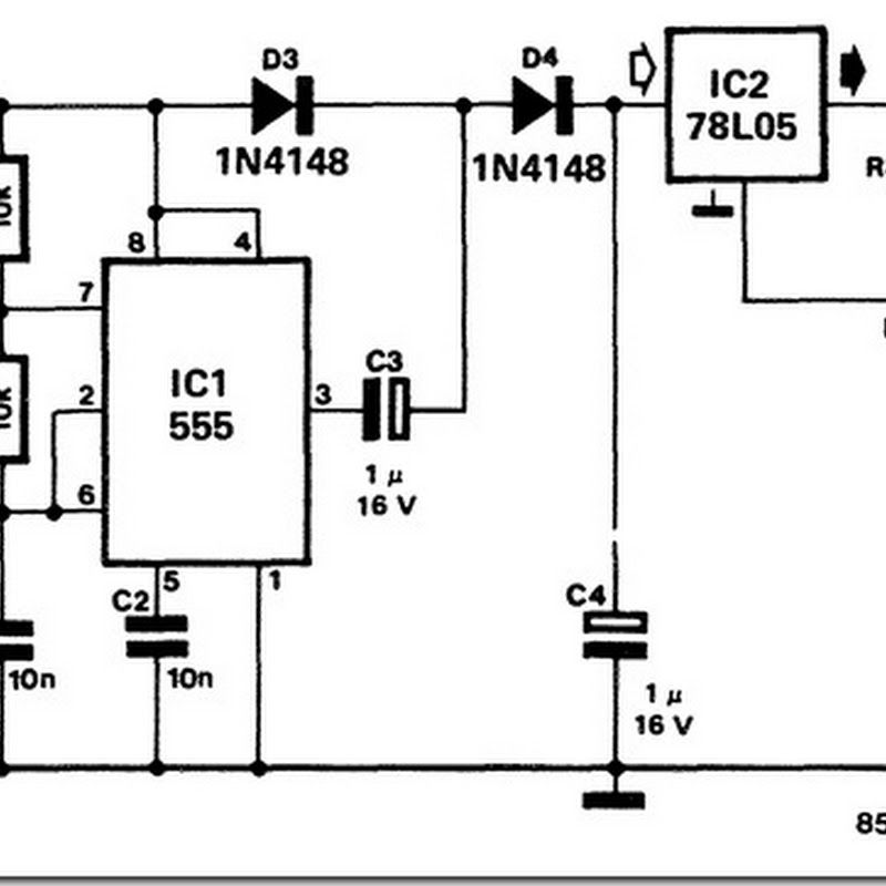 12 volt nicd battery charger design circuit diagram for your diy, Wiring circuit