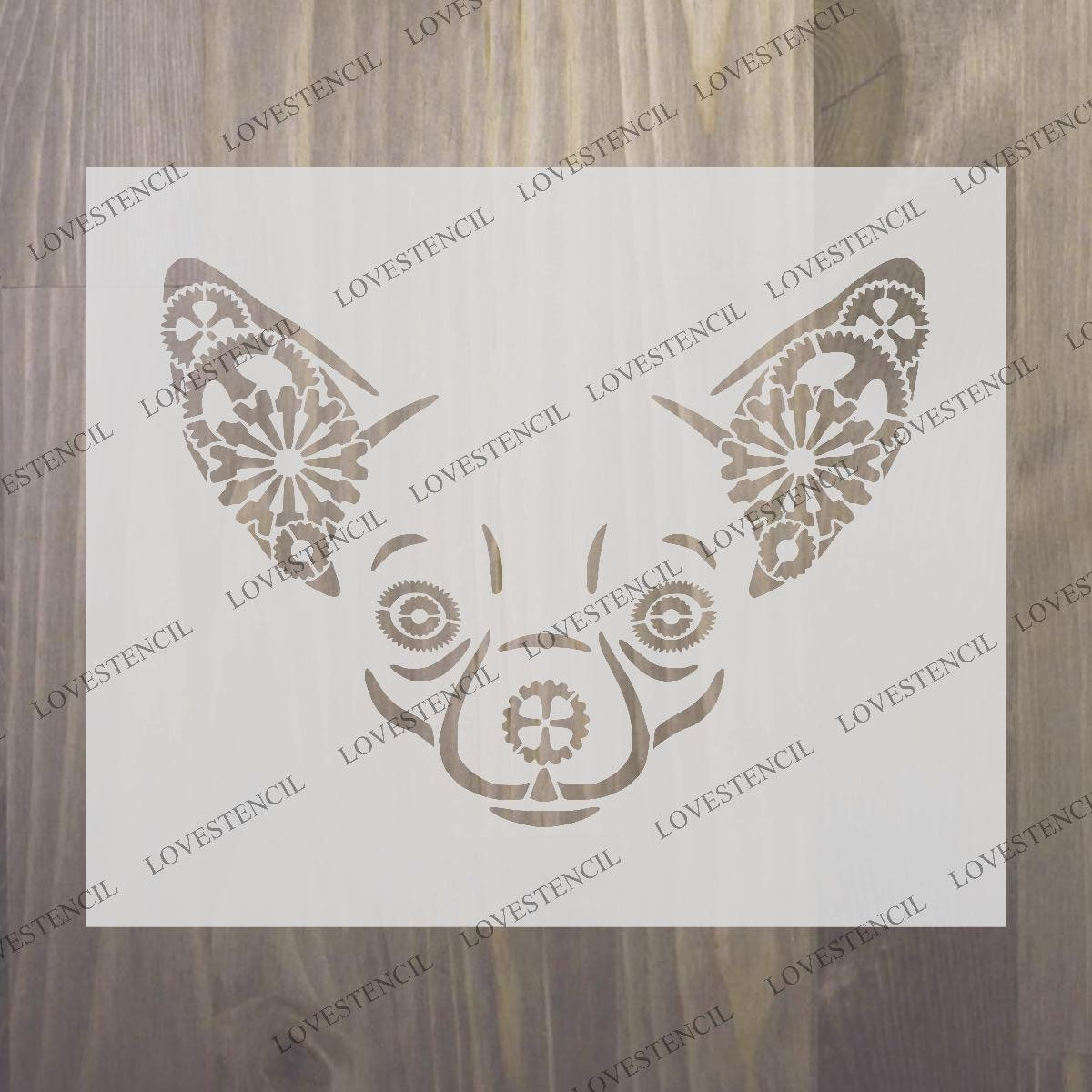 Airbrush Steam Punk Butterfly Stencil Card making Craft Butterfly Stencil