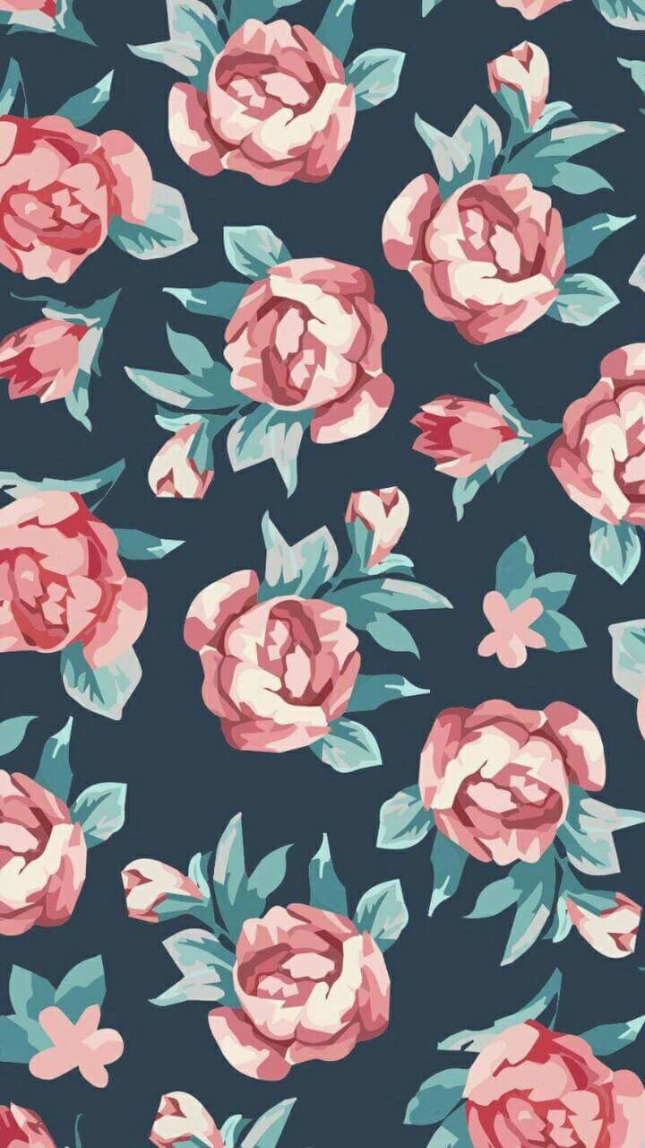 Cute Background Great For Your Phone Floral Wallpaper Flower Wallpaper Wallpaper Backgrounds