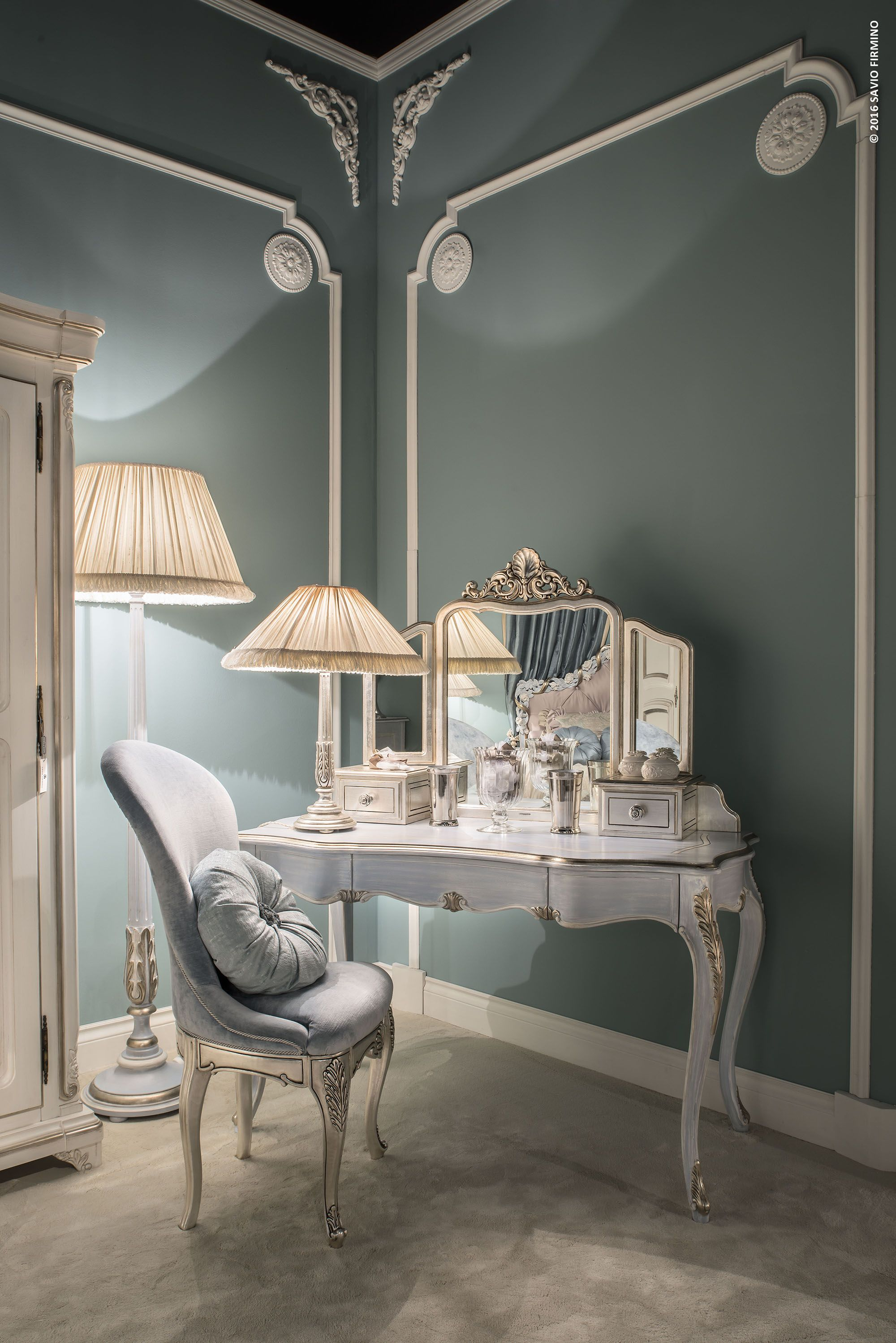 Precious Details And Delicate Colours For The Feminine Bedroom By Savio Firmino Savio Firmino