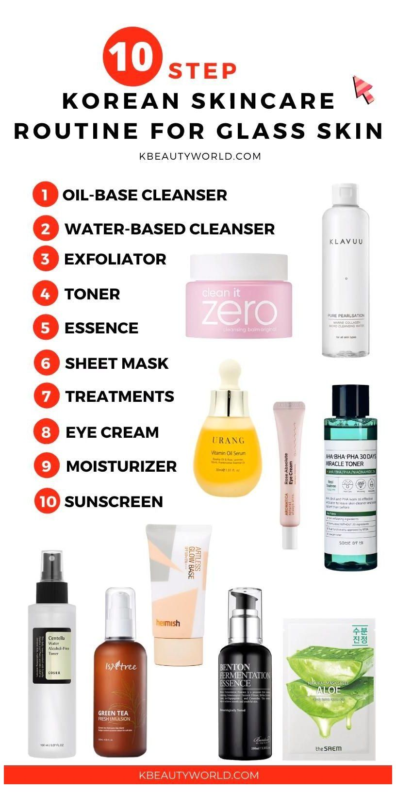 10 Step Korean Skin Care Routine Glass Skin Routine Korean Ever Wonder How Korean Women Get Flawl Skin Care Routine Steps Korean Skincare Skin Care Routine