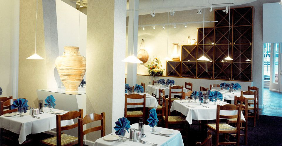 Greek Restaurant design - Google Search | Hospitality ...