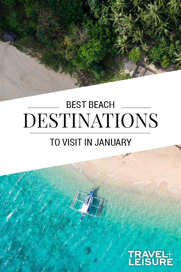 The Best Beaches To Visit In January