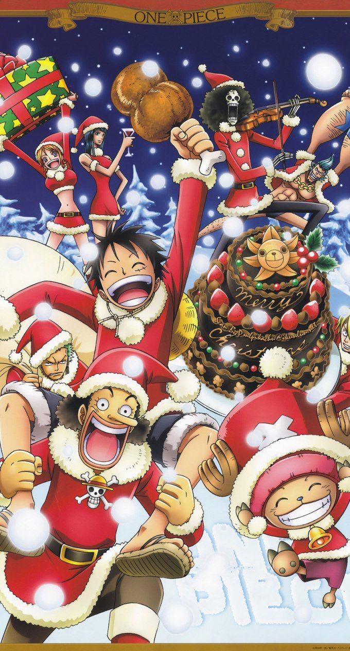 ワンピースのクリスマス Anime Christmas One Piece Anime Christmas Wallpaper