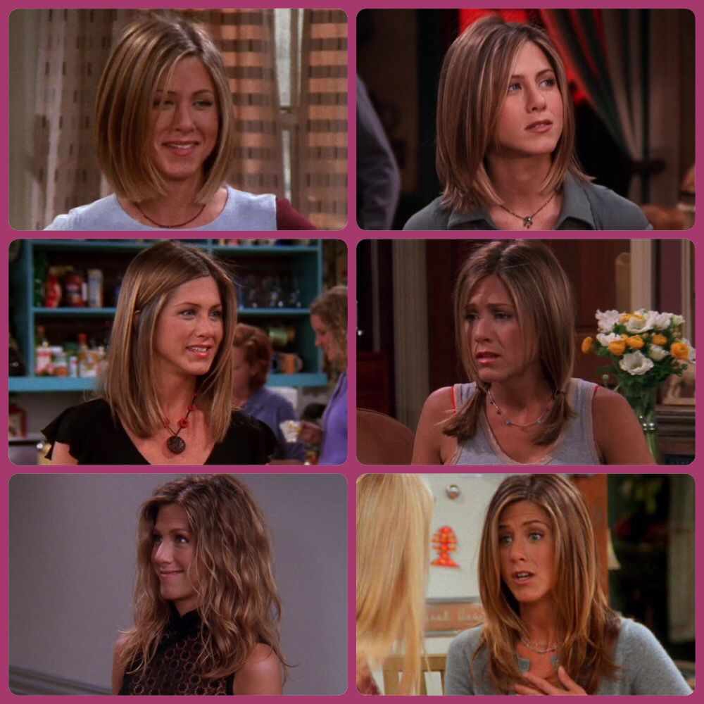 Rachel Green Grows Out Her Short Haircut Fashion Iconsrole