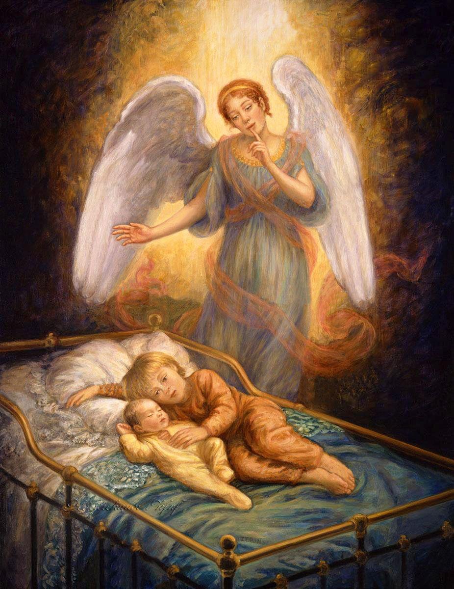 Картинки с ангелами на ночь