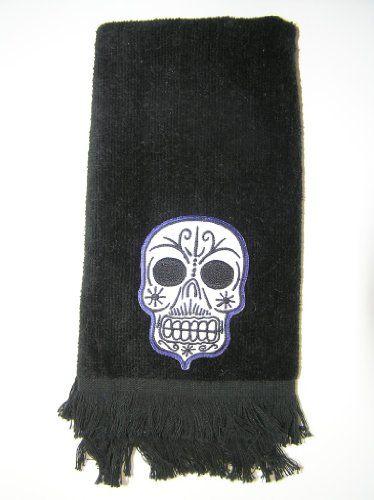 Skull Bathroom Accessories Bath Towel