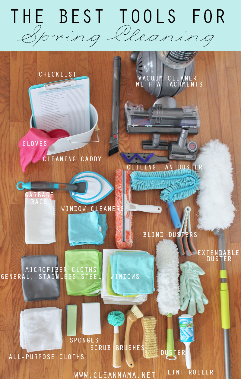 Gather Your Tools | The Best Tools for Spring Cleaning