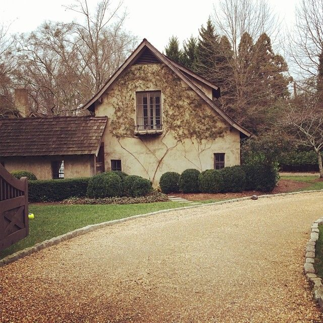 Limestone & Boxwoods - Instagram (@limestoneboxwoods) - English cottage style house designed by Keith Summerour and built by Benecki in the Chastain Park neighborhood of Atlanta.