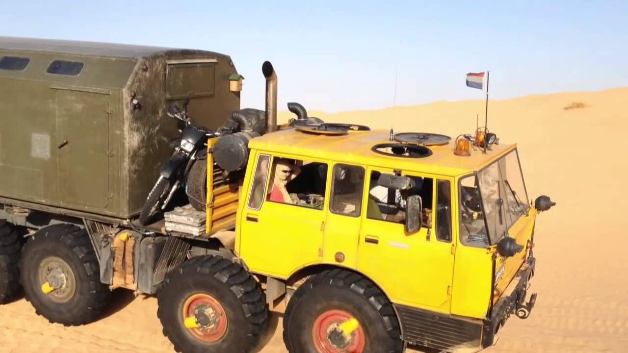 Tatra 813 8x8 offroad sand tunesien action sandblech africa deutz turb