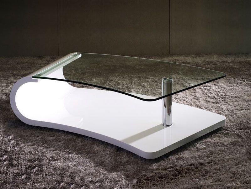 Mesa centro de dise o mesa centro de cristal mesa centro de schuller comedor pinterest - Mesas cristal diseno ...