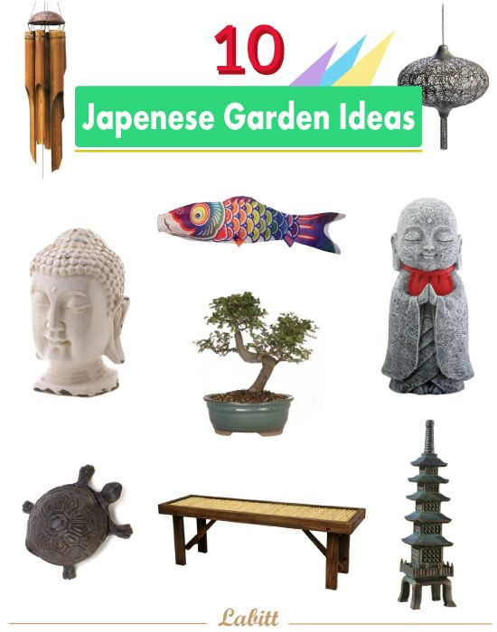 Creating Japanese Garden: 10 Garden Decor #buddhadecor