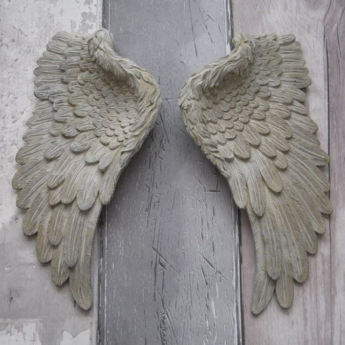 shabby chic small angel wings available on www graangels ie scene rh pinterest ca shabby chic wooden angel wings shabby chic wooden angel wings