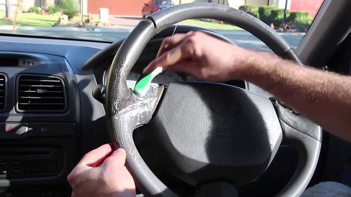 Cleaning Your Steering Wheel, Tricky But any Car Lover Can