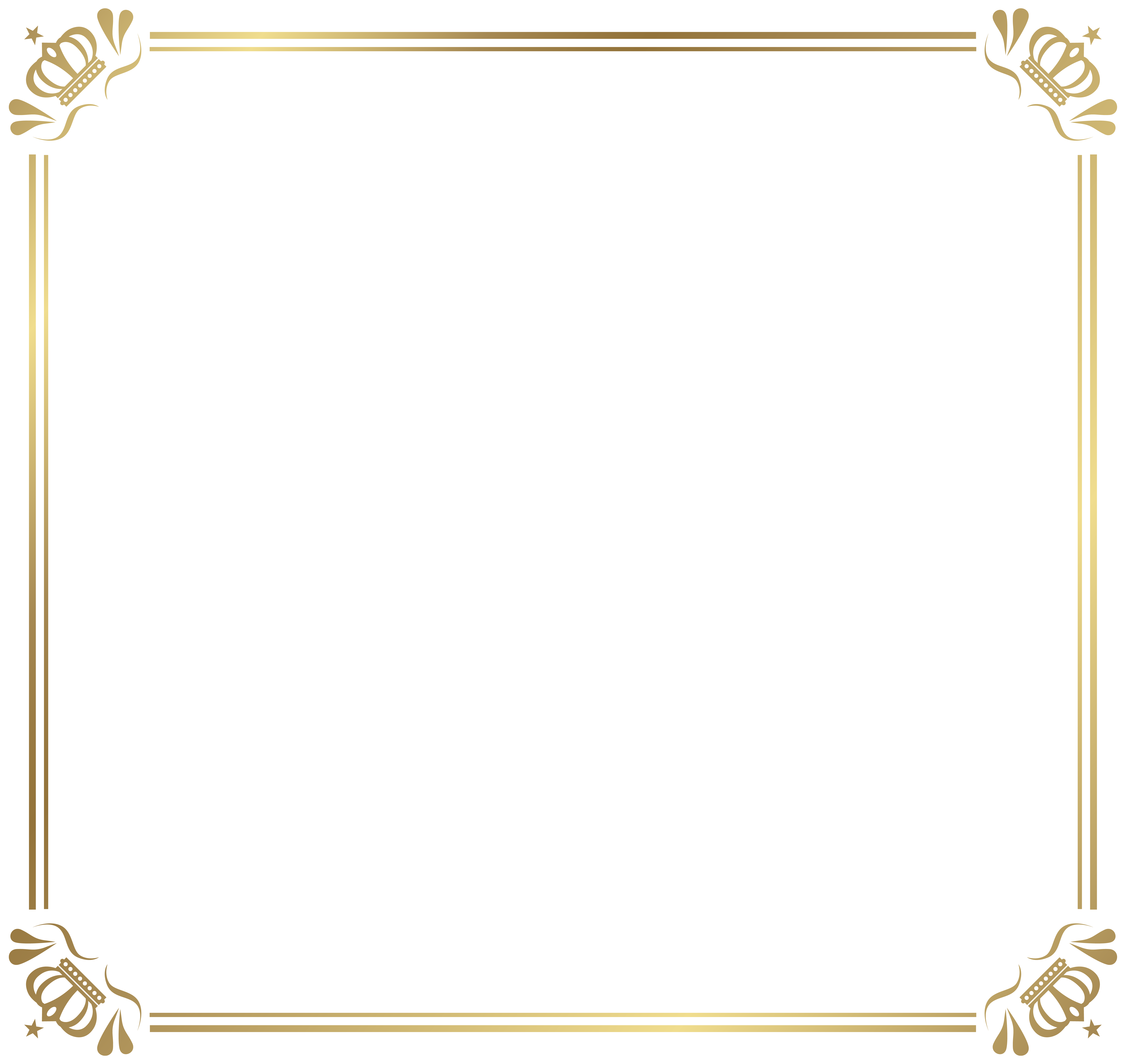 Frame Border With Crowns Png Image Gallery Yopriceville High Quality Images And Transparent Png Free Clipart Crown Png Png Images Clip Art