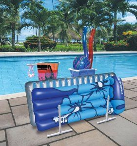 Pool Float Storage Idea Made From Pvc
