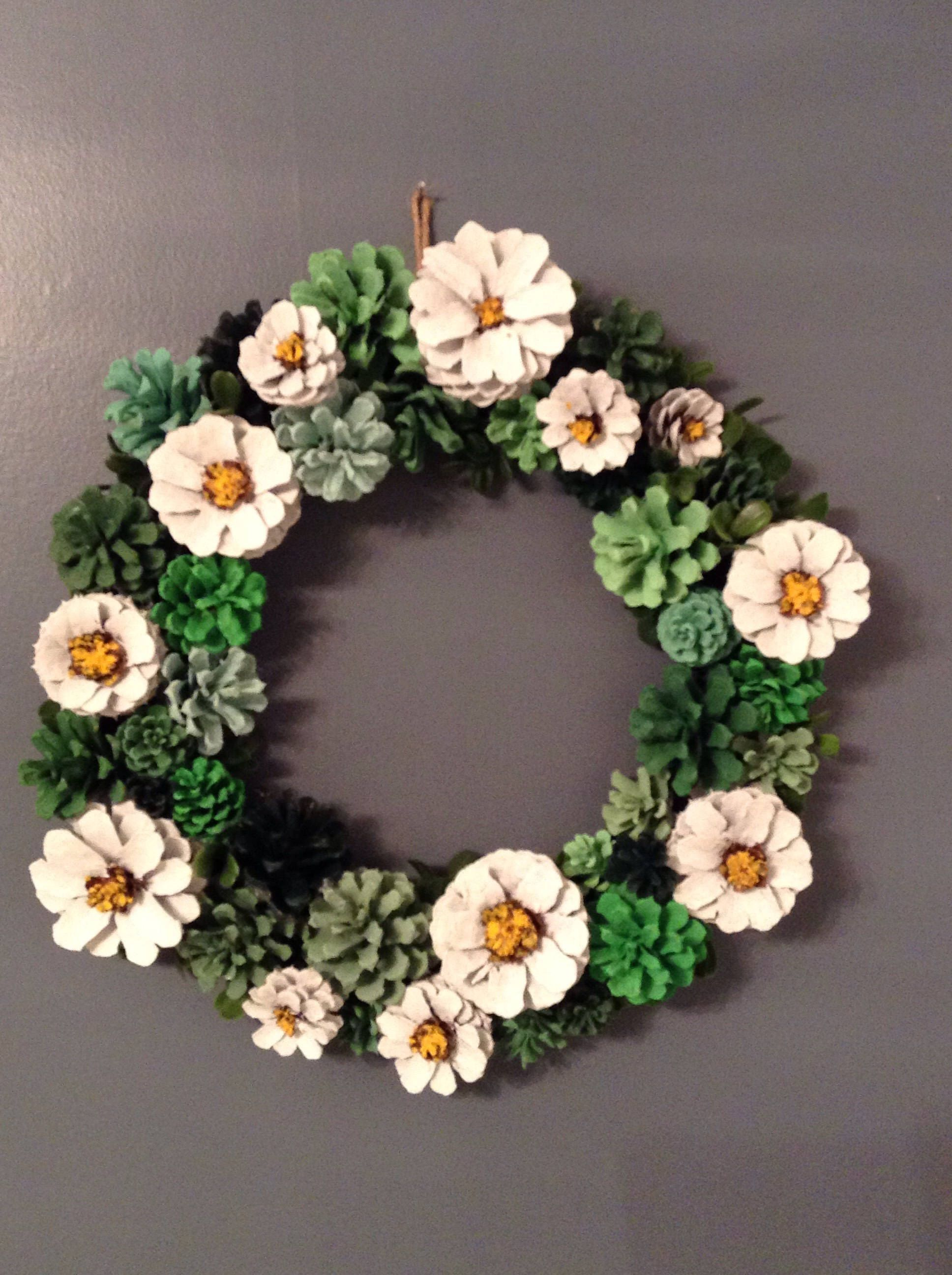 Pin On Pinecone Crafts