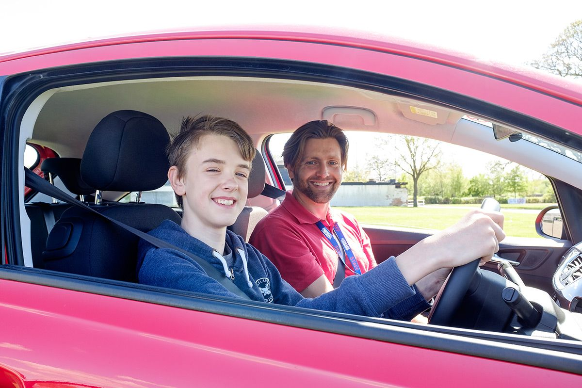 30 minute Young Driver Experience Drivers education