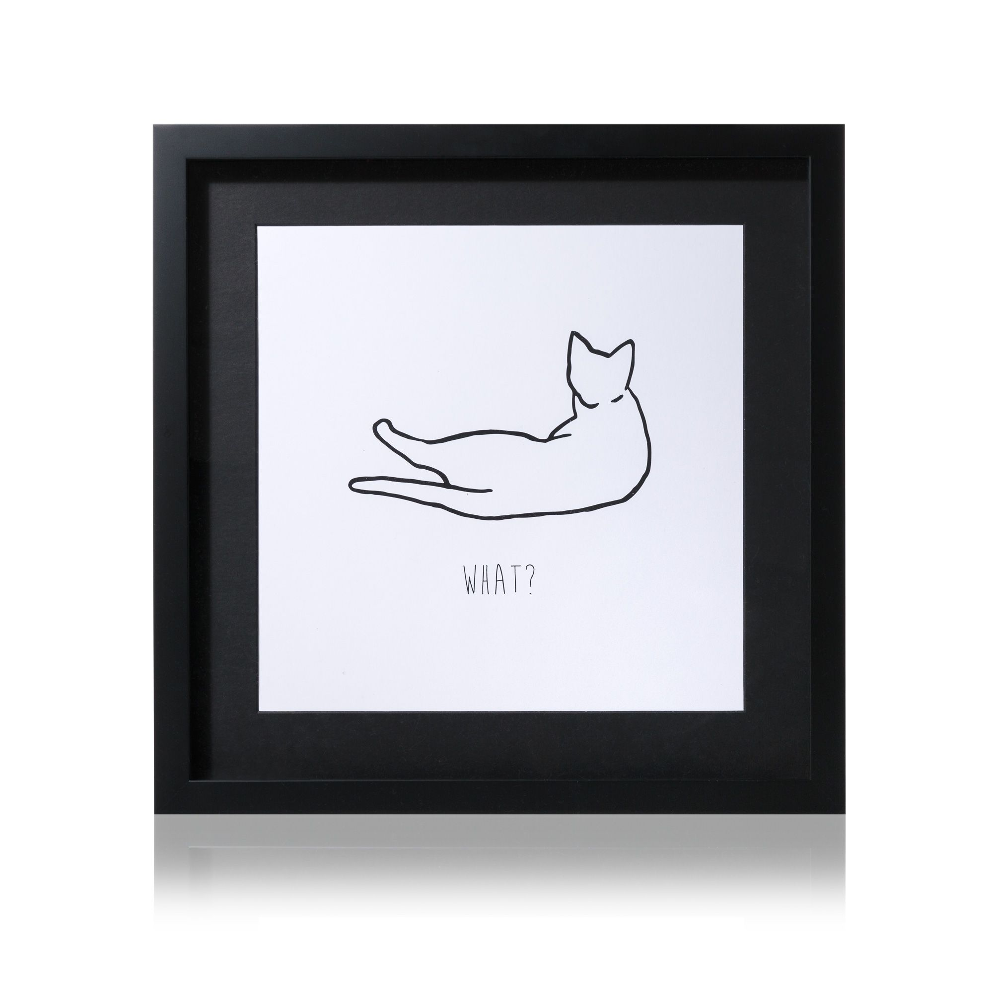 What? Cat Wall Art Cat wall, Wall art, Wall art designs