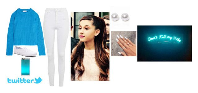 """."" by biebsmahoneari5sos ❤ liked on Polyvore featuring Carven, Topshop, Keds, Casetify and Nouv-Elle"