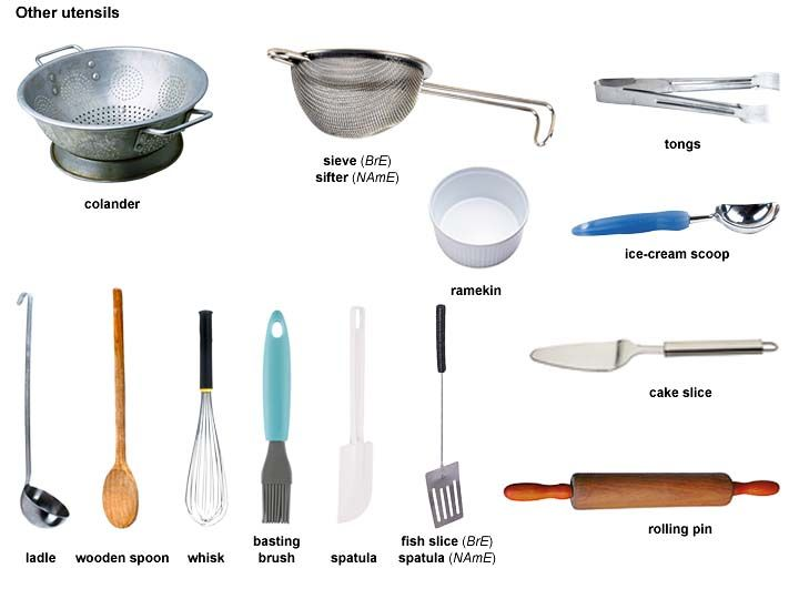Kitchen Accessories Names tongs noun - definition, pictures, pronunciation and usage notes