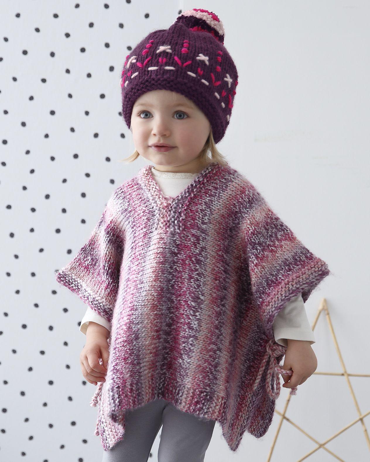 Tricoter Un Poncho Du 2 Ans : tricoter, poncho, Modèle, Poncho, Fille, Madisson, Mikado, Tricot, Facile,, Modele, Gratuit,