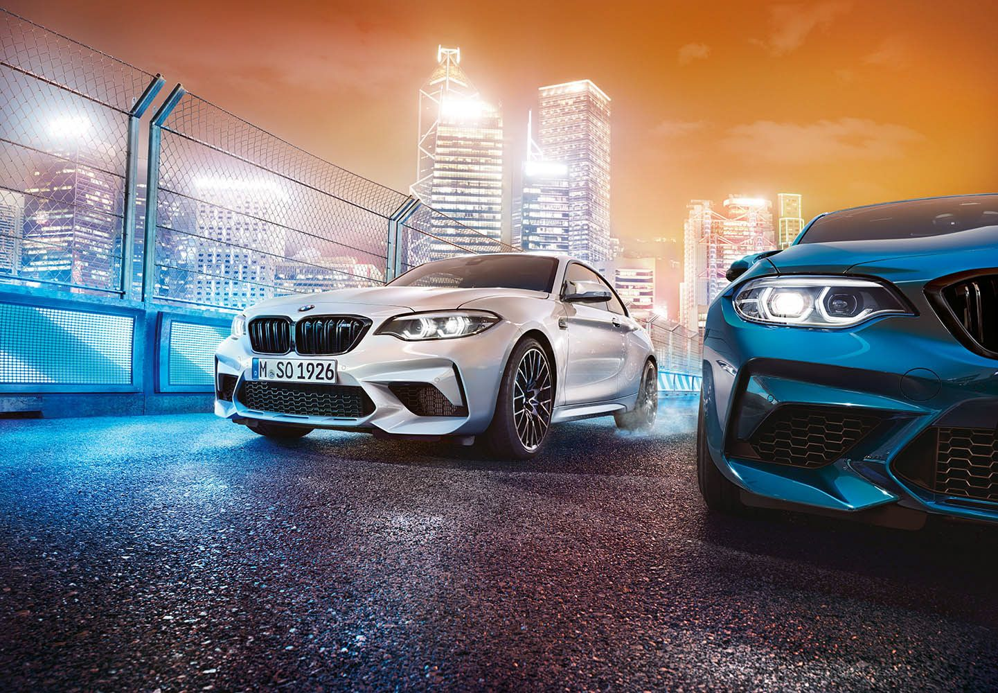 Bmw M2 Competition For Serviceplan On Behance