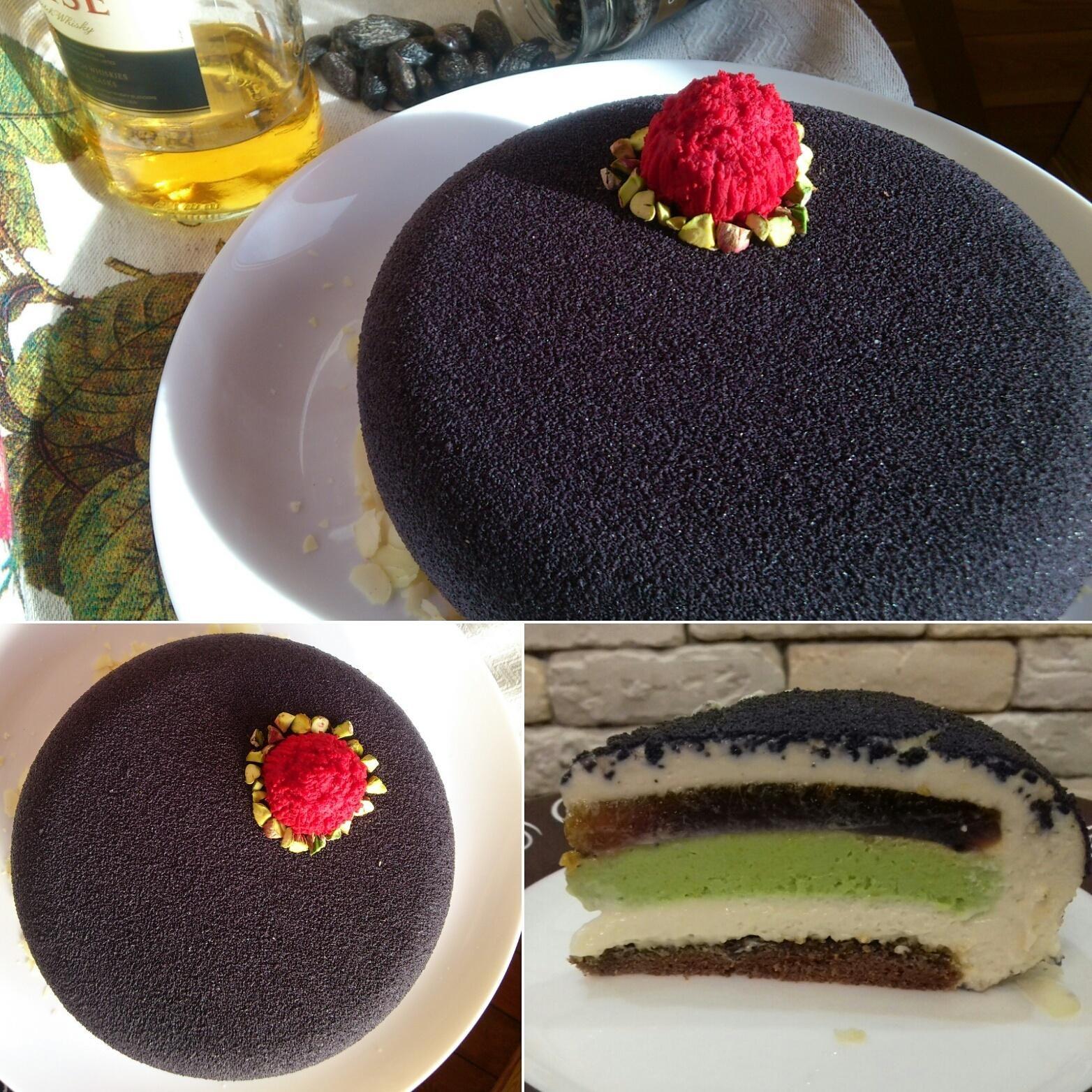 Велюровый торт рецепт с фото пошагово