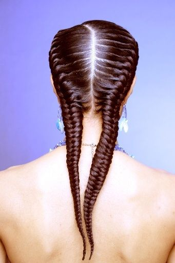 fishtail cornrows goddess braids look amazing for corporate jobs