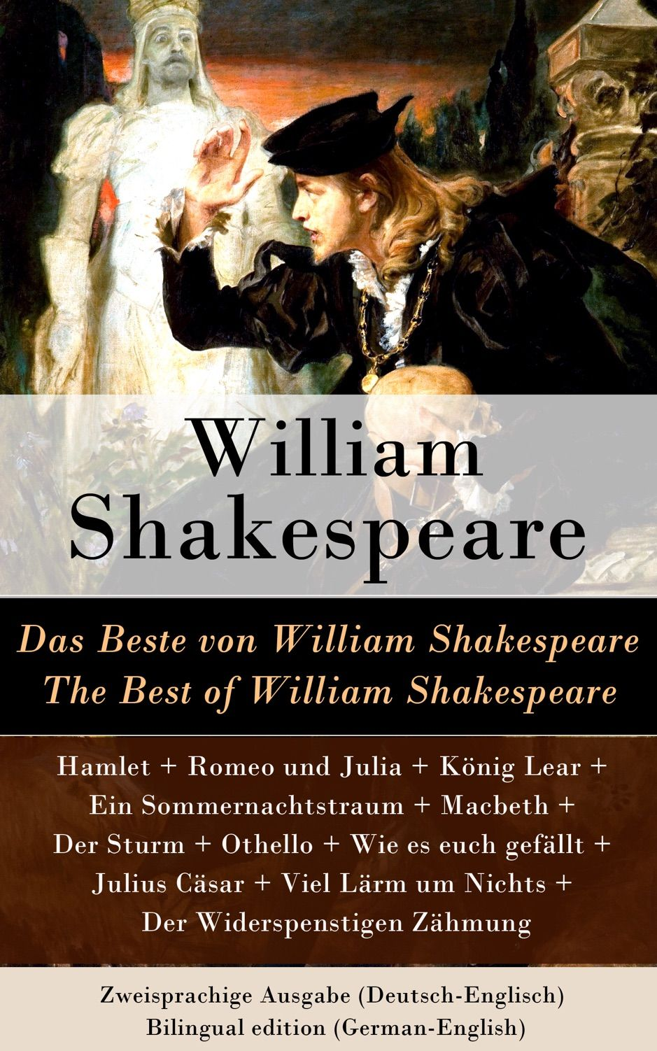 A Zdas Beste Von William Shakespeare The Best Of William Shakespeare Zweisprac Ad Zweisprachige Shakespeare Ausgabe Movie Posters Movies Poster