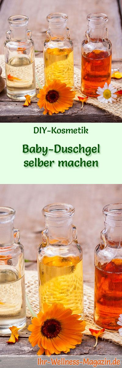 baby duschgel selber machen rezept und anleitung selbstgemachte kosmetik duschgel selber. Black Bedroom Furniture Sets. Home Design Ideas