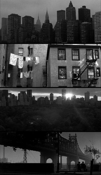 """Capitolo I: adorava New York. La idolatrava smisuratamente."" Woody Allen, ""Manhattan"""