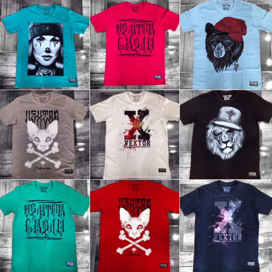 Promoção nova ... Camisetas VEXTOR  1 por 49,90 e 3 por 119,90 !! Aproveitem !!