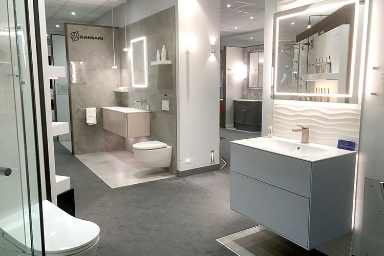 Showroom Bathroom Design Bathroom Showrooms Master Bathroom