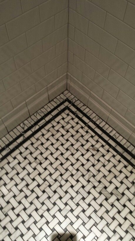 vintage basket weave tile bathroom google search