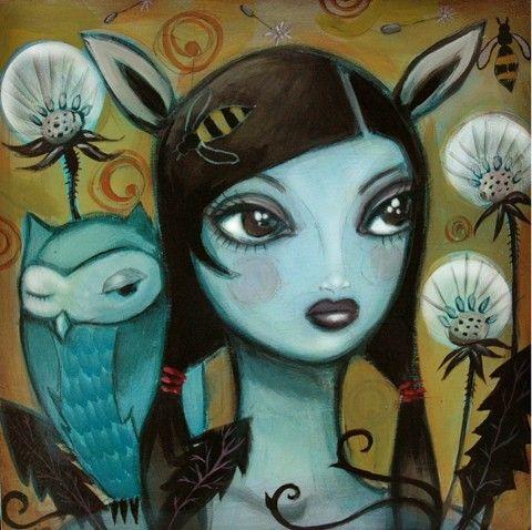 Deer Girl - by CJ Metzger