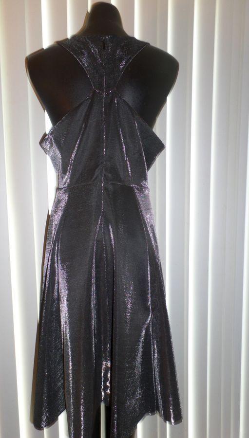 4aa45ec2ee3 NWOT Ladies Torrid Silver Metallic Sleeveless Party Prom Bridesmaid Dress -  16 Silver Metallic Torrid