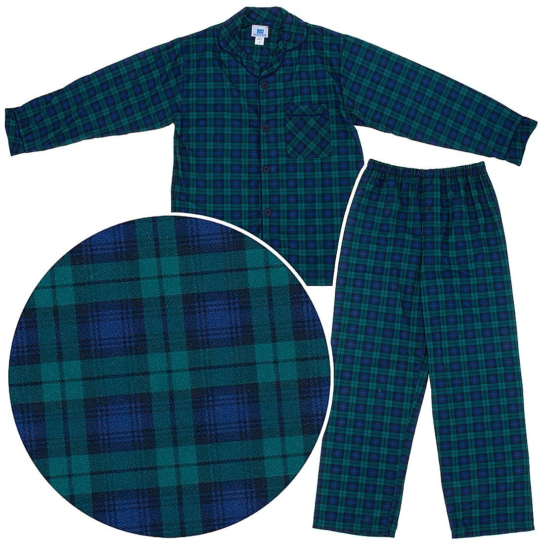 Blackwatch Classic Christmas Coat-Style Pajamas for Infants ... bc2da63f1