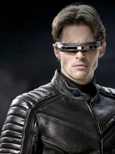 Cyclops Scott Summers Portrayed By James Marsden Cyclops X Men X Men Superhero