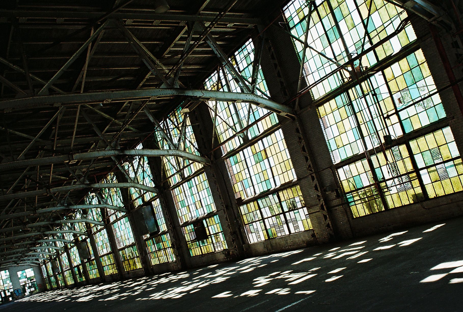 albuquerque railyards | Albuquerques Industrial Cathedral