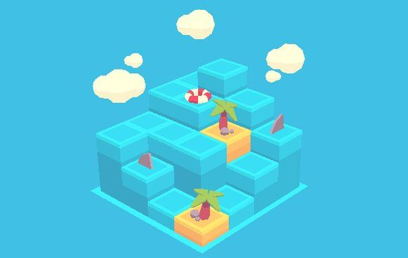"""Scott™ sur Twitter: """"Wasn't able to Game Jam over the weekend, so I played around with a concept last night. #b3d #lowpoly #GGJ17 #melbGGj #wave https://t.co/IQeQCKUoM7"""""""