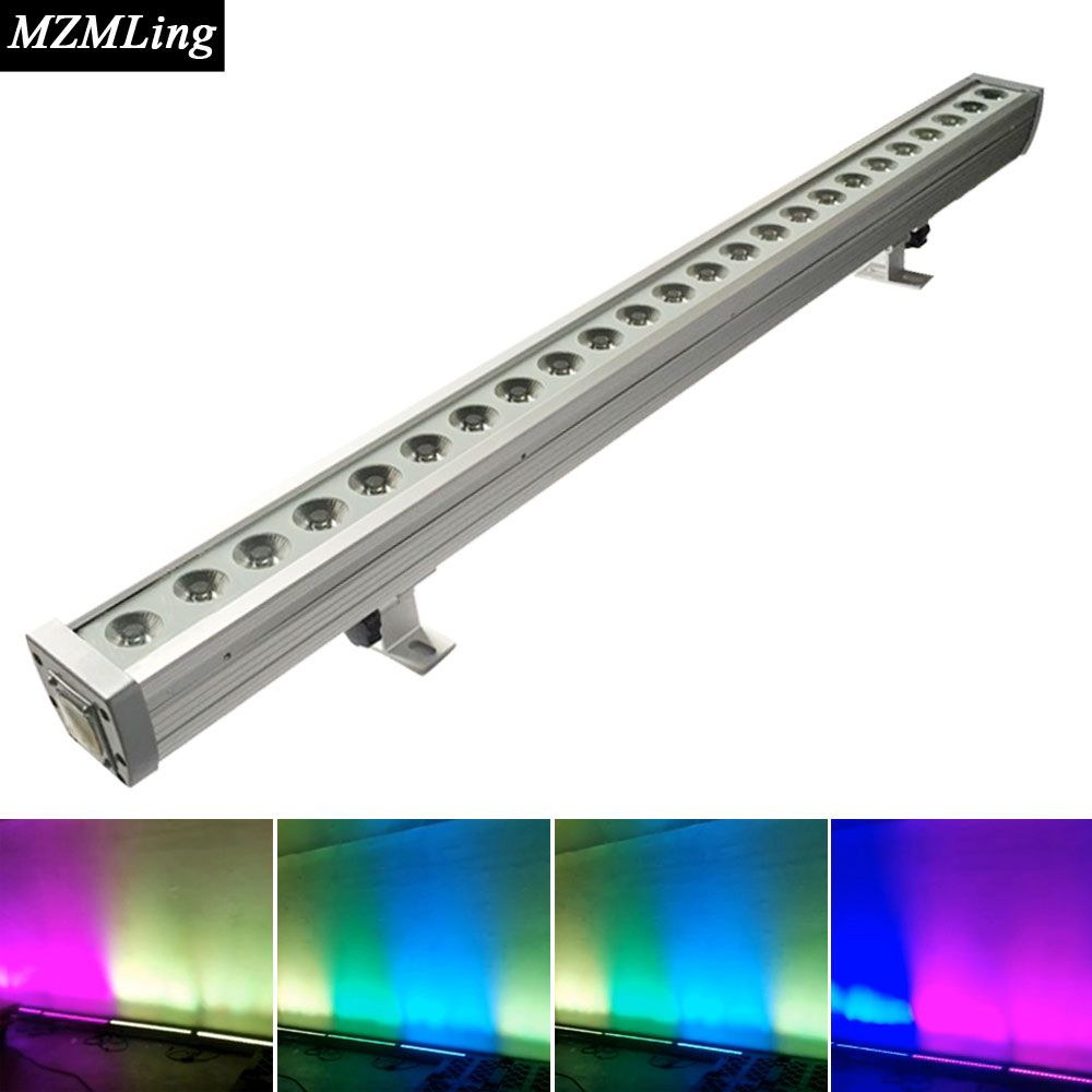 Xw rgbw in waterproof led wall wash light dmx washer led