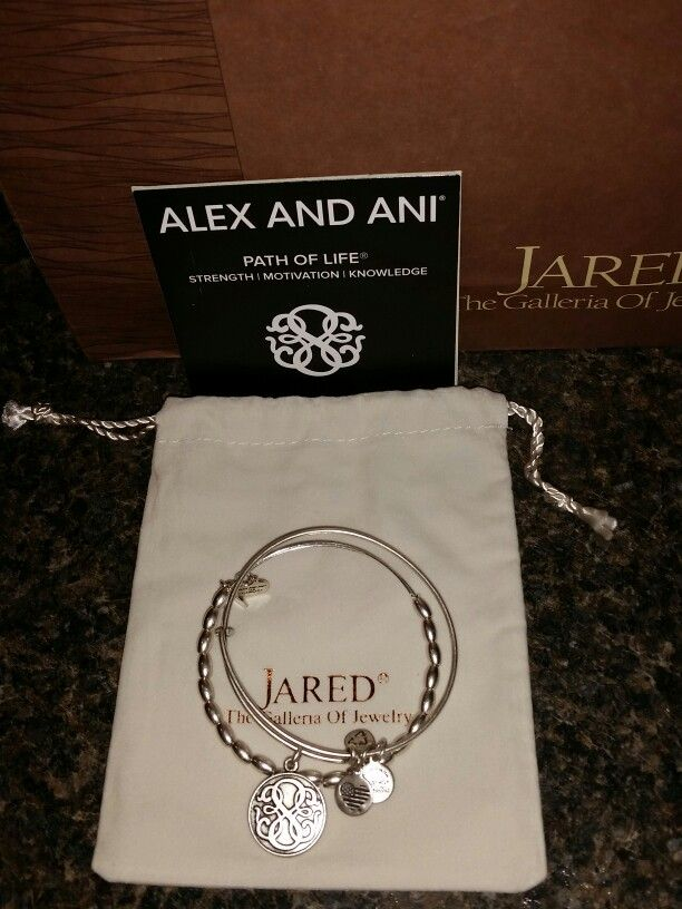 This is a special limited edition set of Alex and Ani bracelets. I bought this in remembrance of my daddy ♡ ♡ ♡