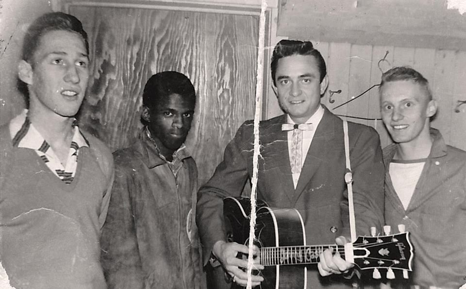 Johnny Cash with the Blue Cats