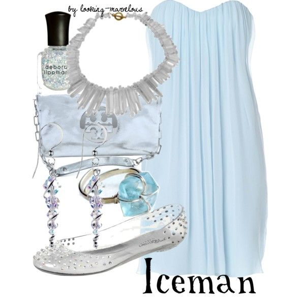 """iceman"" by marvel-ous on Polyvore"