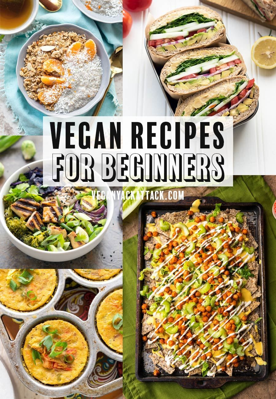 Vegan Recipes for Beginners images