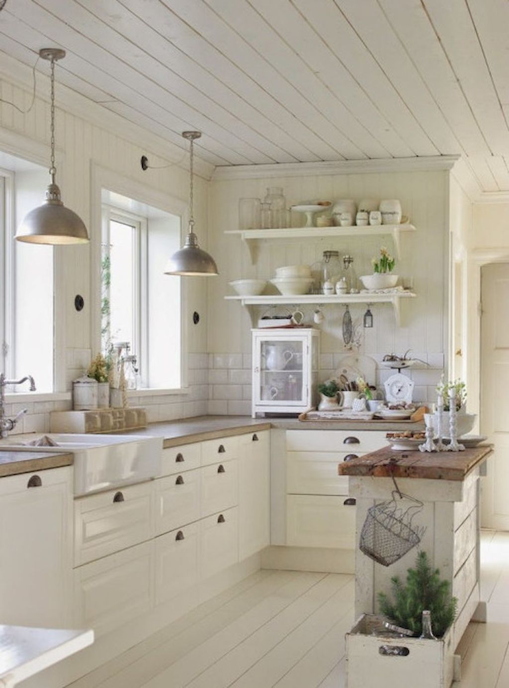 90 Rustic Kitchen Cabinets Farmhouse Style Ideas 75  Rustic Delectable Farmhouse Kitchen Design Inspiration