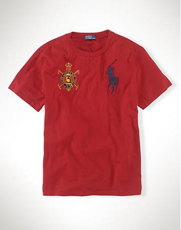 ralph lauren outlet online uk Ralph Lauren Men's Country Big Pony Short  Sleeve T-Shirt