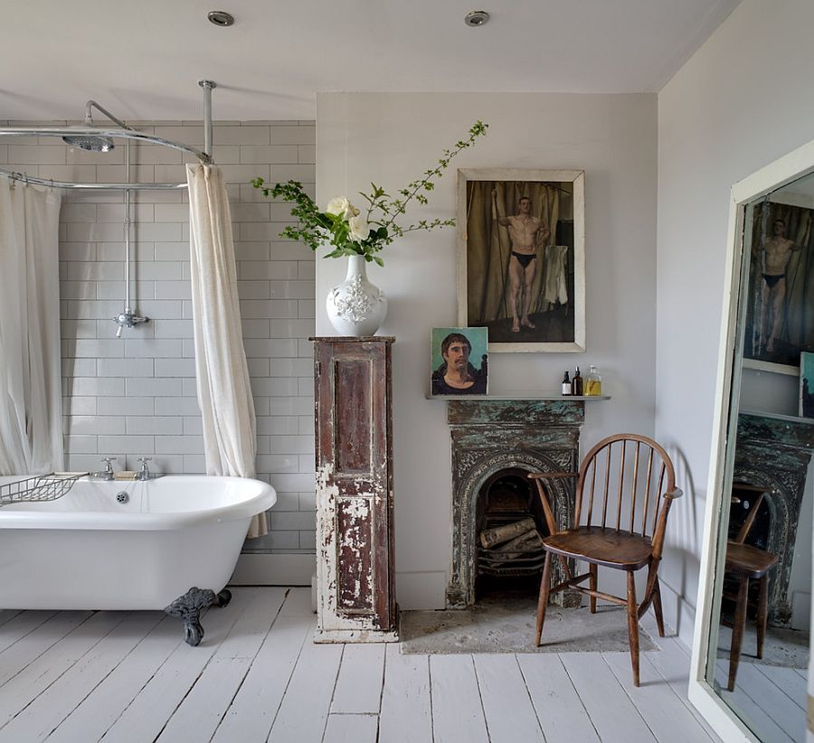 Revitalized Luxury 30 Soothing Shabby Chic Bathrooms  Clawfoot Awesome Bathroom With Clawfoot Tub Ideas Decorating Inspiration