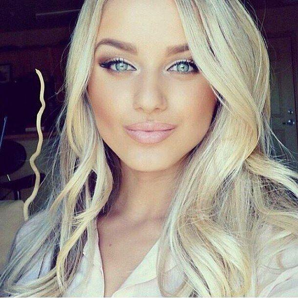Pretty Girl Blonde Hair Blue Eyes Bing Images Blonde Hair Blue